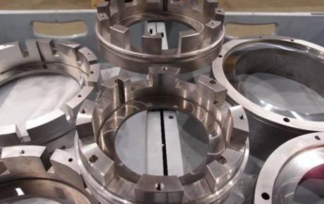 Fourniture complète TSM de Gas Seal avec dépôt HVOF carbure de tungsténe et rectification