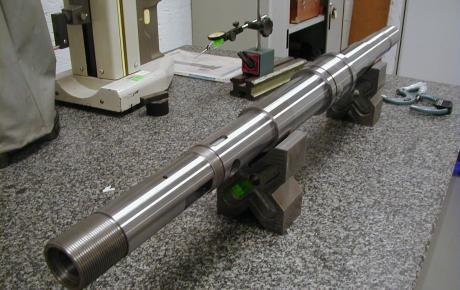 Fourniture compléte TSM d'arbre de contrôle, nickelage, chromage, projection HVOF carbure de chrome et rectification associée