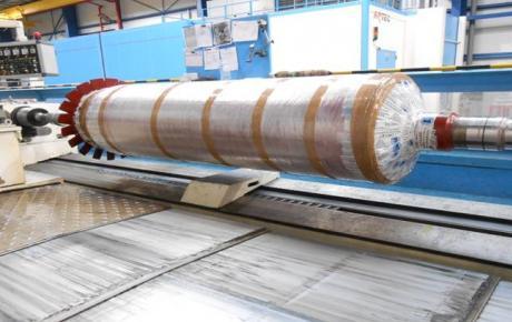 Remise en état des portées de soies et de palier d'Induit electrique par projection HVOF Carbure de tunsgsténe et rectification.jpg